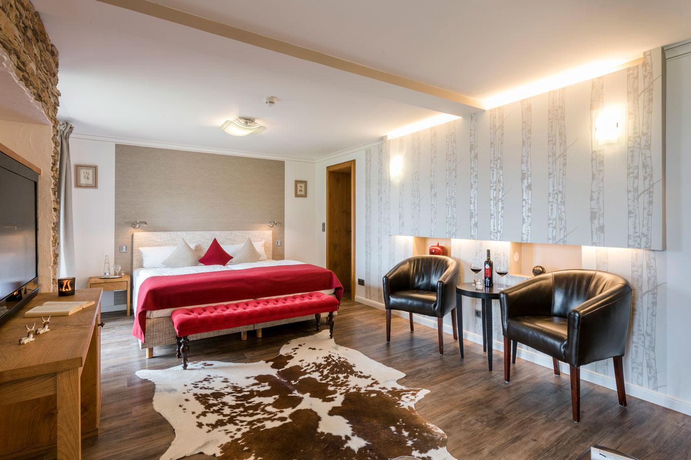 Suiten kategorien der westerhof for Zimmer suite