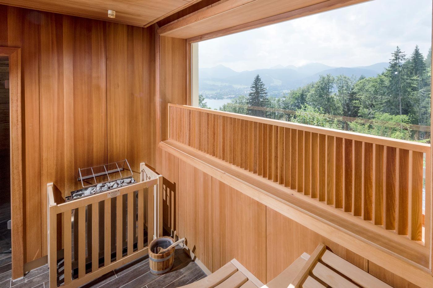 Fabelhaft Sauna Bilder Beste Wahl Mit Seeblick Auf Den Tegernsee