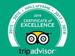 Hall of fame - Certificate of excellence from 2015 to 2019